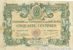 50 Centimes FRANCE régionalisme et divers BOURGES 1915 JP.032.01 pr.TTB