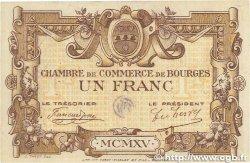 1 Franc FRANCE régionalisme et divers BOURGES 1915 JP.032.02 SUP+