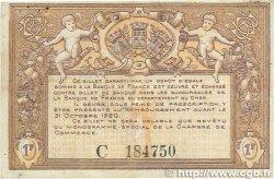 1 Franc FRANCE régionalisme et divers BOURGES 1915 JP.032.06 TTB