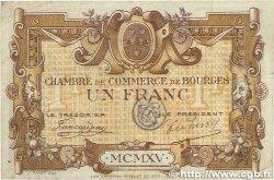 1 Franc FRANCE régionalisme et divers Bourges 1915 JP.032.06 pr.TTB