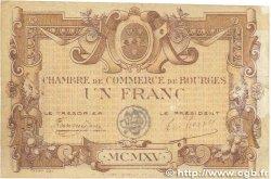 1 Franc FRANCE régionalisme et divers BOURGES 1915 JP.032.07 TTB
