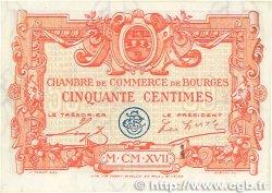50 Centimes FRANCE régionalisme et divers Bourges 1915 JP.032.08 SPL+