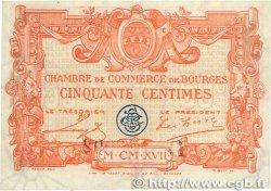 50 Centimes FRANCE régionalisme et divers BOURGES 1915 JP.032.08 TTB+