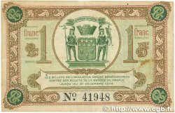 1 Franc FRANCE régionalisme et divers Brive 1918 JP.033.02 TTB