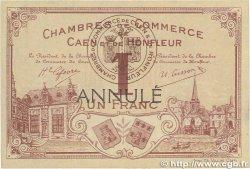 1 Franc FRANCE régionalisme et divers CAEN ET HONFLEUR 1915 JP.034.02 SPL