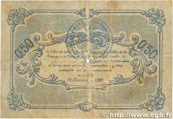 50 Centimes FRANCE régionalisme et divers CAEN ET HONFLEUR 1915 JP.034.04 B
