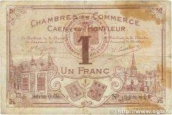 1 Franc FRANCE régionalisme et divers Caen et Honfleur 1915 JP.034.06 TB