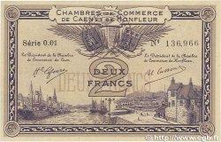 2 Francs FRANCE régionalisme et divers CAEN ET HONFLEUR 1915 JP.034.10 SUP