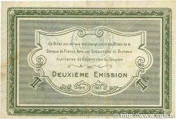 1 Franc FRANCE régionalisme et divers Caen et Honfleur 1915 JP.034.14 TTB