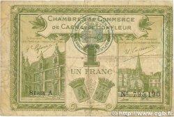 1 Franc FRANCE régionalisme et divers CAEN ET HONFLEUR 1915 JP.034.14 TB