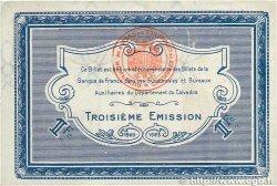 1 Franc FRANCE régionalisme et divers CAEN ET HONFLEUR 1920 JP.034.18 SUP