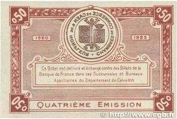 50 Centimes FRANCE régionalisme et divers CAEN ET HONFLEUR 1920 JP.034.20 NEUF