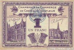 1 Franc FRANCE régionalisme et divers CAEN ET HONFLEUR 1920 JP.034.22 TTB+