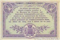 1 Franc FRANCE régionalisme et divers CAHORS 1915 JP.035.07 SUP