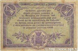 1 Franc FRANCE régionalisme et divers Cahors 1915 JP.035.14 TB