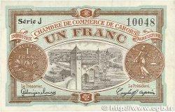 1 Franc FRANCE régionalisme et divers CAHORS 1918 JP.035.22