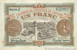 1 Franc FRANCE régionalisme et divers Cahors 1918 JP.035.22 TTB