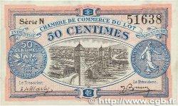 50 Centimes FRANCE régionalisme et divers CAHORS 1920 JP.035.25 SUP