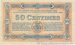 50 Centimes FRANCE régionalisme et divers CAHORS 1920 JP.035.25 TTB+