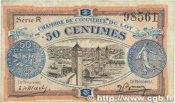 50 Centimes FRANCE régionalisme et divers CAHORS 1920 JP.035.25 TTB
