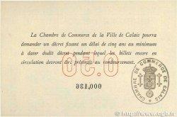 50 Centimes FRANCE régionalisme et divers Calais 1914 JP.036.01 SPL+