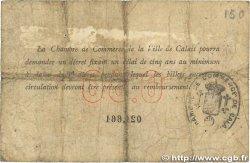 50 Centimes FRANCE régionalisme et divers CALAIS 1914 JP.036.01 B