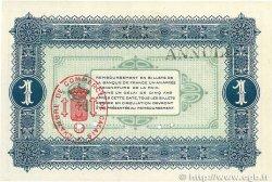 1 Franc FRANCE régionalisme et divers Calais 1915 JP.036.18 SUP+