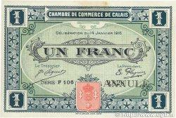 1 Franc FRANCE régionalisme et divers  1916 JP.036.25var. SUP+