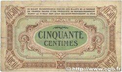 50 Centimes FRANCE régionalisme et divers RÉGION ÉCONOMIQUE DU CENTRE 1918 JP.040.05 B