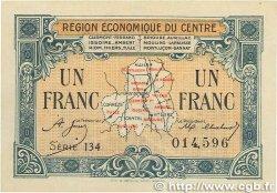 1 Franc FRANCE régionalisme et divers Région Économique Du Centre 1918 JP.040.07 SUP