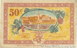 50 Centimes FRANCE régionalisme et divers CETTE ACTUELLEMENT SÈTE 1922 JP.041.18 TB