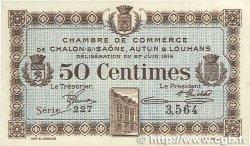 50 Centimes FRANCE régionalisme et divers CHÂLON-SUR-SAÔNE, AUTUN ET LOUHANS 1916 JP.042.01 SUP+