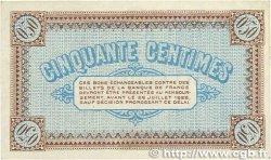 50 Centimes FRANCE régionalisme et divers CHÂLON-SUR-SAÔNE, AUTUN ET LOUHANS 1917 JP.042.12 TTB+