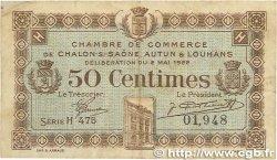 50 Centimes FRANCE régionalisme et divers Châlon-Sur-Saône, Autun et Louhans 1922 JP.042.32 TB