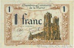1 Franc FRANCE régionalisme et divers Chalons, Reims, Épernay 1922 JP.043.02 SUP+