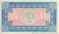 1 Franc FRANCE régionalisme et divers CHAMBÉRY 1916 JP.044.09 SPL+