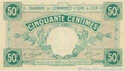 50 Centimes FRANCE régionalisme et divers CHARTRES 1915 JP.045.01 SPL
