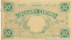 50 Centimes FRANCE régionalisme et divers CHARTRES 1915 JP.045.01 SUP