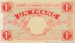 1 Franc FRANCE régionalisme et divers Chartres 1915 JP.045.03 SUP