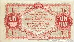 1 Franc FRANCE régionalisme et divers Chartres 1915 JP.045.03 TTB+