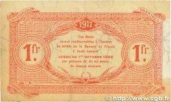 1 Franc FRANCE régionalisme et divers CHARTRES 1917 JP.045.07 TTB
