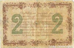 2 Francs FRANCE régionalisme et divers Chateauroux 1915 JP.046.04 B