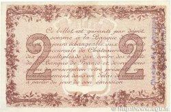 2 Francs FRANCE régionalisme et divers CHATEAUROUX 1915 JP.046.09 SPL