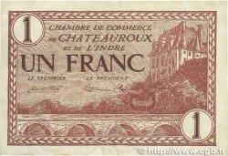 1 Franc FRANCE régionalisme et divers Chateauroux 1922 JP.046.30 TTB