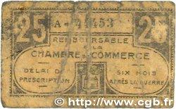 25 Centimes FRANCE régionalisme et divers CHATEAUROUX 1918 JP.046.33 B