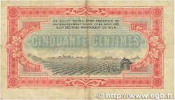 50 Centimes FRANCE régionalisme et divers COGNAC 1916 JP.049.01 TTB