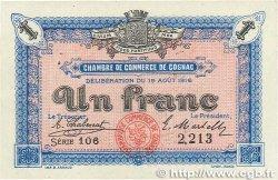 1 Franc FRANCE régionalisme et divers Cognac 1916 JP.049.03 SUP+