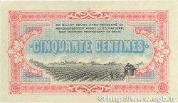 50 Centimes FRANCE régionalisme et divers COGNAC 1917 JP.049.05 SUP