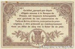 50 Centimes FRANCE régionalisme et divers CORRÈZE 1915 JP.051.04 SUP