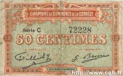 50 Centimes FRANCE régionalisme et divers CORRÈZE 1915 JP.051.15 TB